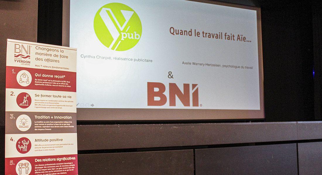 BNI Source Granson - Réseautage